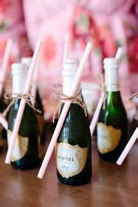 Small Bottle Of Wine For Wedding Favor by Best 25 Mini Chagne Bottles Ideas On