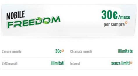 mobile freedom fastweb fastweb mobile tutto compreso settimocell