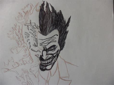 imagenes joker para dibujar mi dibujo del joker con lapicera bic negra arte taringa