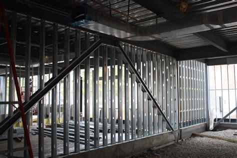 metal stud framing metal stud framing drywall american craftsmen inc