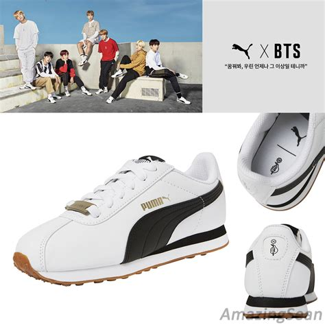 bts x puma indonesia bts official goods puma x bts turin shoes photo card