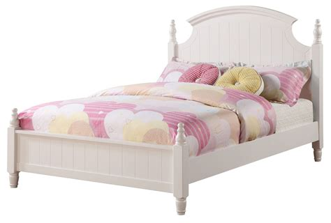 full size poster bed bethany full size low poster bed from coaster 400681f