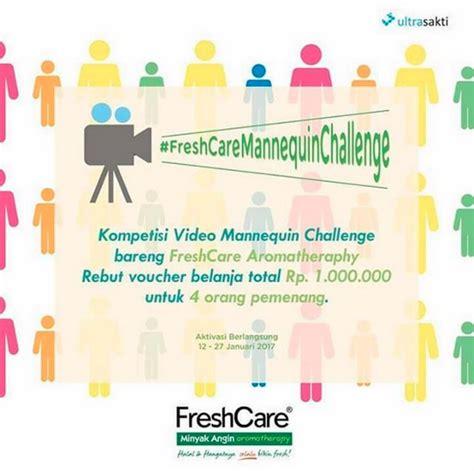 detik voucher 1 juta fresh care mannequin challenge