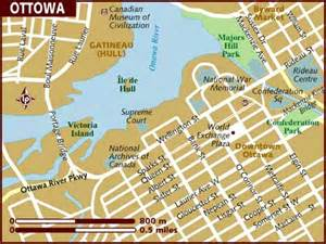 map of ottawa ontario canada map of ottawa