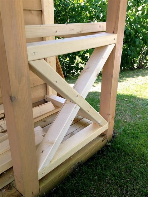 cross buck style railing deck railings diy deck