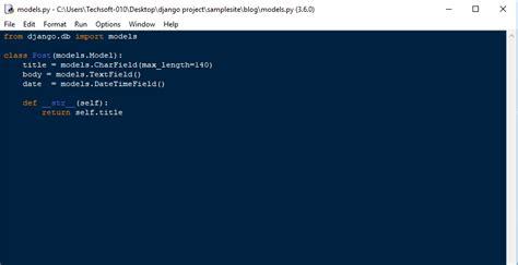 django tutorial java python django creating models free source code