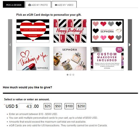 Check Amount On Sephora Gift Card - how to use paypal on sephora the dumbbelle