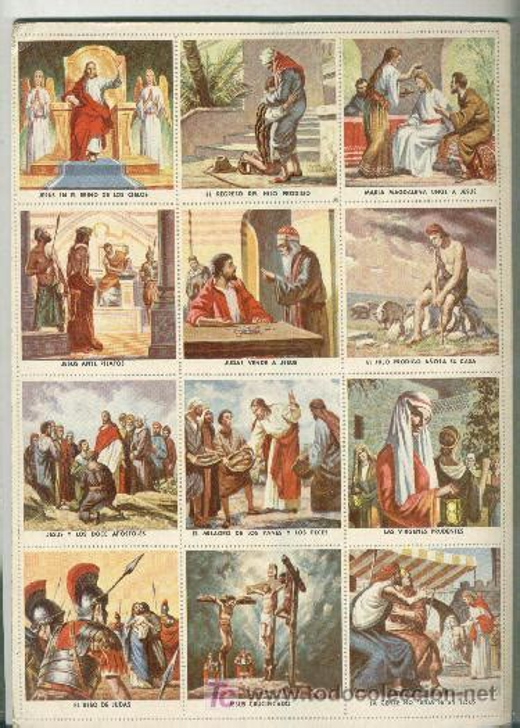 imagenes sobre la vida de jesus album libro cromos vida de jesus 1958 comprar 193 lbumes
