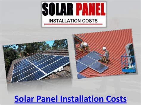price of installing solar panels solar panel installation costs