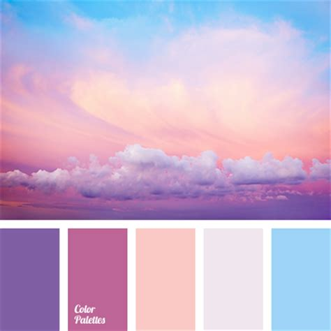 pink is a combination of what colors colors of pink sunset color palette ideas