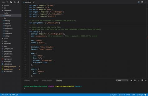 color themes visual studio code 10 best visual studio code dark themes super dev resources