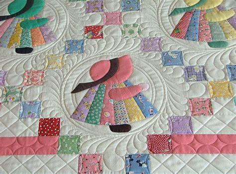 patchwork applique patterns the sunbonnet sue quilt pattern is classic favorite