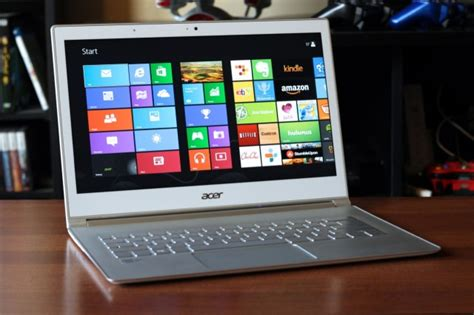 Laptop Acer S7 review solid design great touchscreen can t save acer aspire s7 ultrabook ars technica