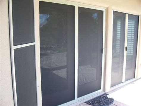 Patio Sliding Screen Doors Sun Security Products By Day Screens Sliding Patio Screen Doors Wall Of Sliders