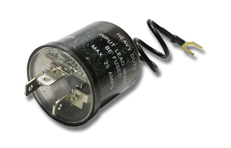 led  incandescent flasher  terminals     amps