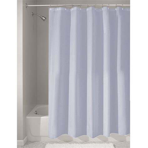 Shower Curtain Mold Mildew Free Waterproof Fabric Bath