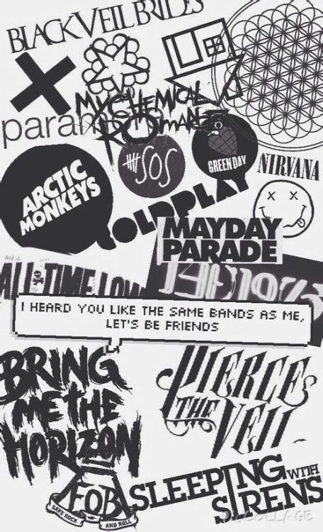 Iphone Iphone 5 5s All Time Low Collage Cover Mayday Parade Backgrounds