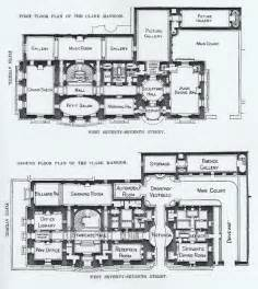 blueprint of a mansion the gilded age era the william a clark mansion new york