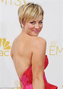 is there a new penny with blonde hair on the big bang theroy kaley cuoco chows down on mcdonalds before walking the