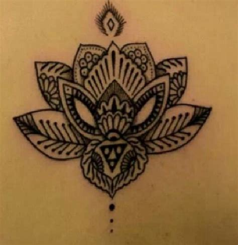 tattoo lotus flower mandala mandala lotus flower tattoo tattoos pinterest