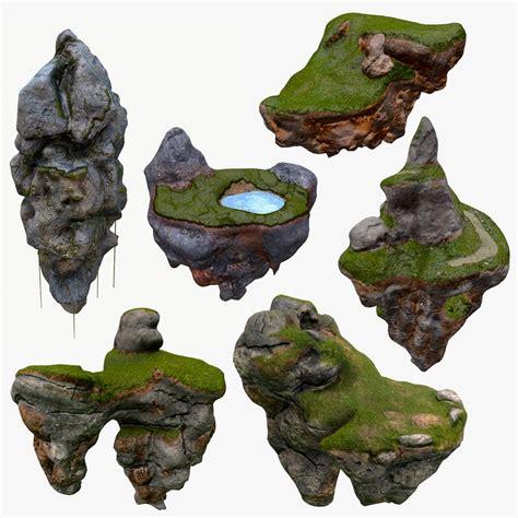 simple voxel floating island blender 3d youtube floating islands x6 package 3d model
