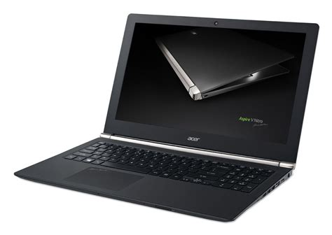 Laptop Acer Black acer launches a 4k gaming laptop the aspire v nitro black