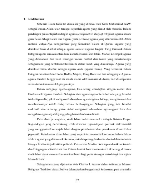 Studi Agama Normativitas Atau Historisitas Dr M Amin Abdullah teori dasar metode studi islam
