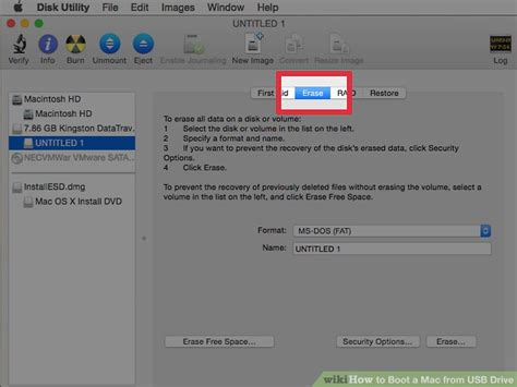 how to boot a mac from usb drive with pictures wikihow