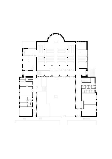 roman catholic church floor plan roman catholic church tam 225 s nagy archdaily