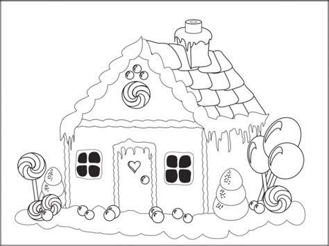 christmas gingerbread coloring pages   print