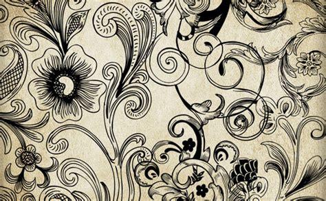 imagenes vectoriales florales motivos florales y ornamentos decorativos vectoriales gratis