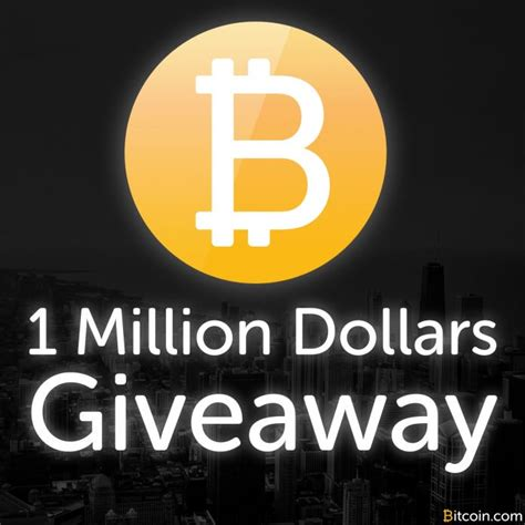 Bitcoin Giveaway Site - palm beach group reveals 1 million bitcoin giveaway bitcoinez