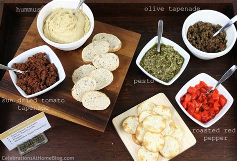 Bar Toppings by Hummus Bar Celebrations At Home