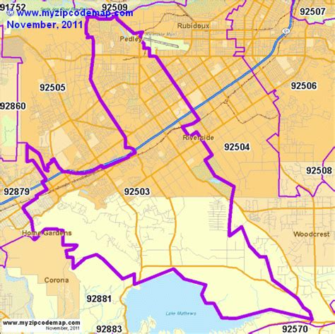zip code map riverside county riverside ca school district map