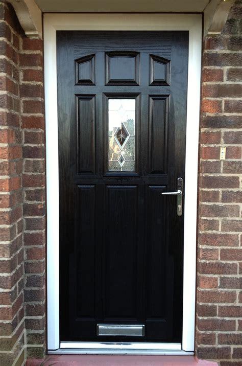 Black Composite Front Door   Distinction DoorsDistinction