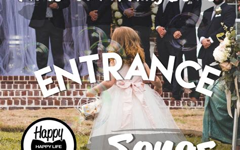 ring bearer and flower girl ceremony songs happy wife