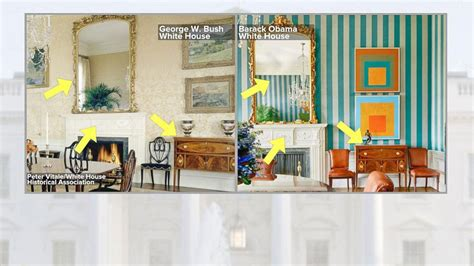 did trump redecorate the white house redecorating white house melania trump unveils white