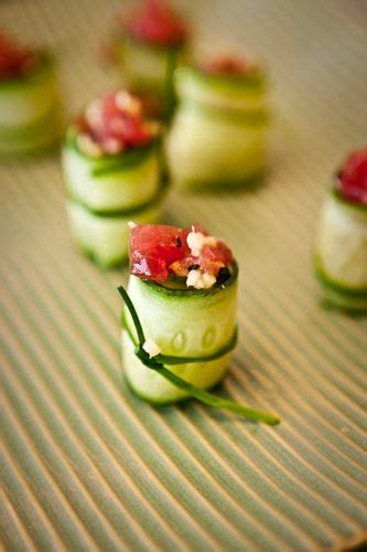 hors d oeuvres beautiful ideas party appetizers beautiful cucumber roll ups and cups on pinterest