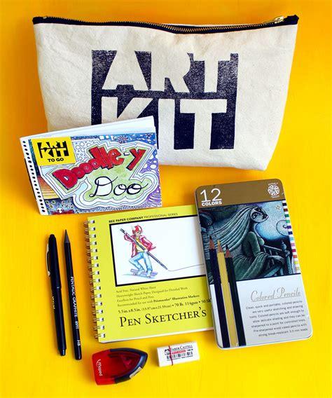 doodle drawing kit doodle y doo travel kit gift with artists supplies and
