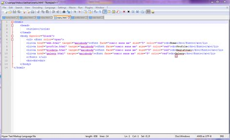 langkah membuat web sederhana ceng kling membuat website sederhana dengan teknik frameset