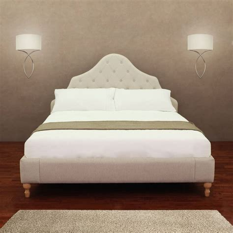 Button Tufted Bed Frame Button Tufted Bed Frame