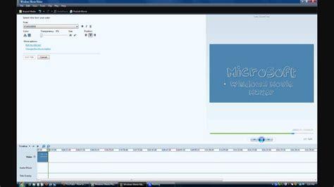 tutorial windows movie maker vista español how to change the font in windows movie maker vista v6 0