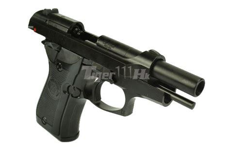 Airsoft Gun Buatan Taiwan we metal cheetah m84fs gbb pistol mini 92 black airsoft tiger111hk area