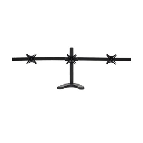 triple monitor desk mount triple lcd 3 monitor stand desk mount adjustable curved