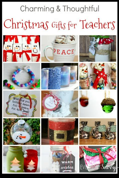 teacher christmas gift ideas easy to buy or diy gifts