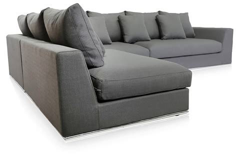 contemporary grey sofa gorgeous giovani fabric contemporary sofa in a grey finish