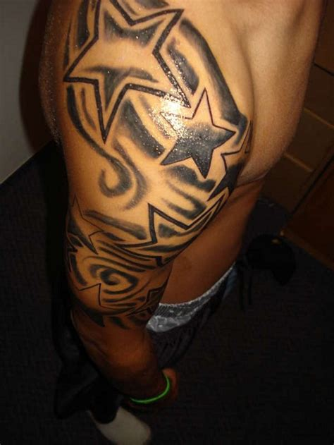 star sleeve tattoo designs unique ideas best 2015 designs and