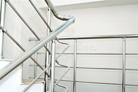 chrome banister rail chrome railing stock photography image 23108672