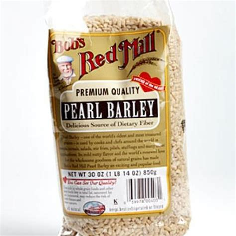 Bob Mill Pearl Barley by Bob S Mill Pearl Barley Decoding Whole Grain Food