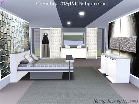 khany sims set chambre 224 coucher sims 3 sims 3 bedroom set